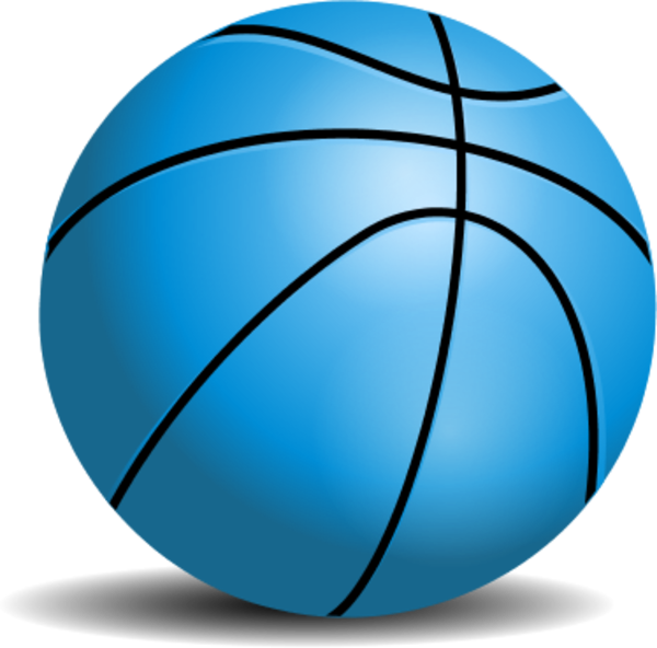 Clipart free basketball. Teal pencil and in