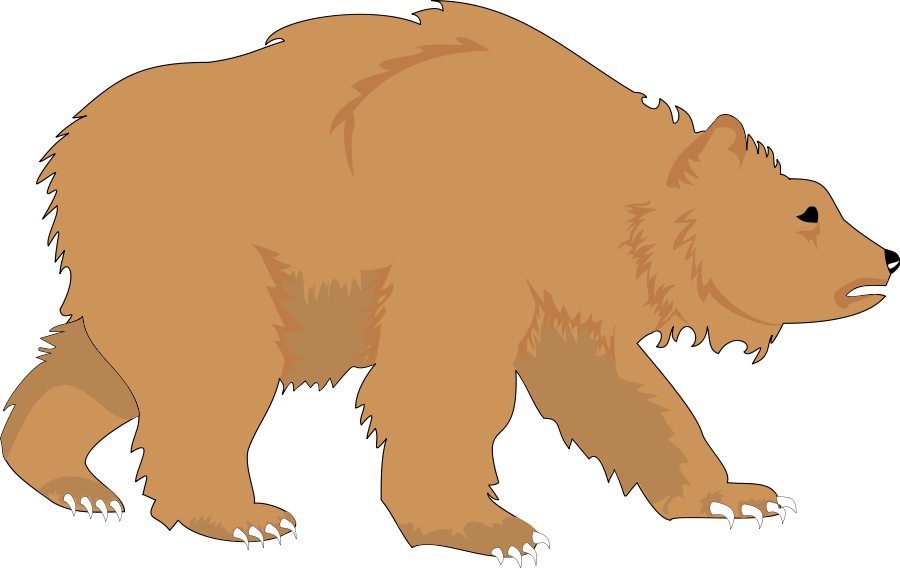 Bear clipart animated. Clip art free download