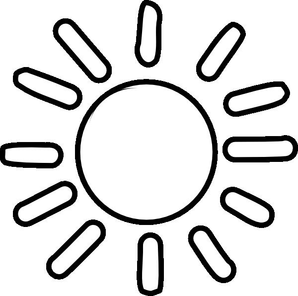 free sun black. Clipart sunshine sunny