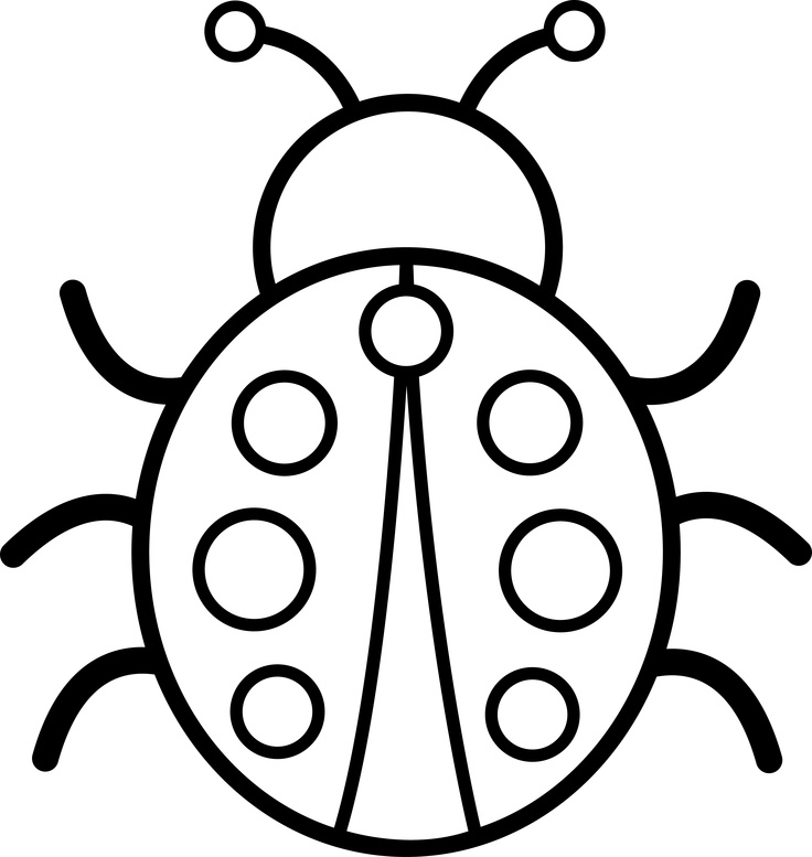 free black and. Insects clipart face
