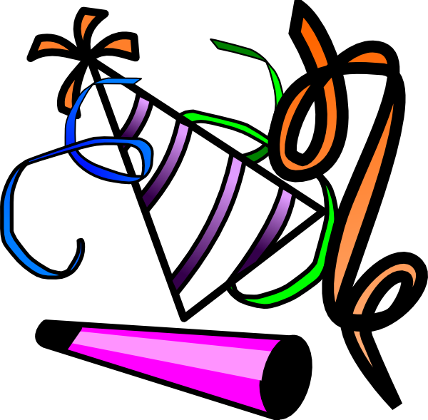 Clipart hat new years eve. Celebration clip art free