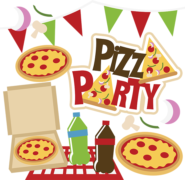 Pizza . Party clipart sunday