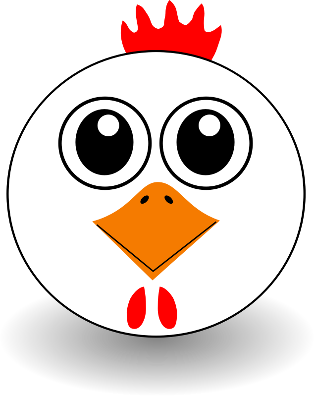 Download chicken clip art. Hen clipart cartoon