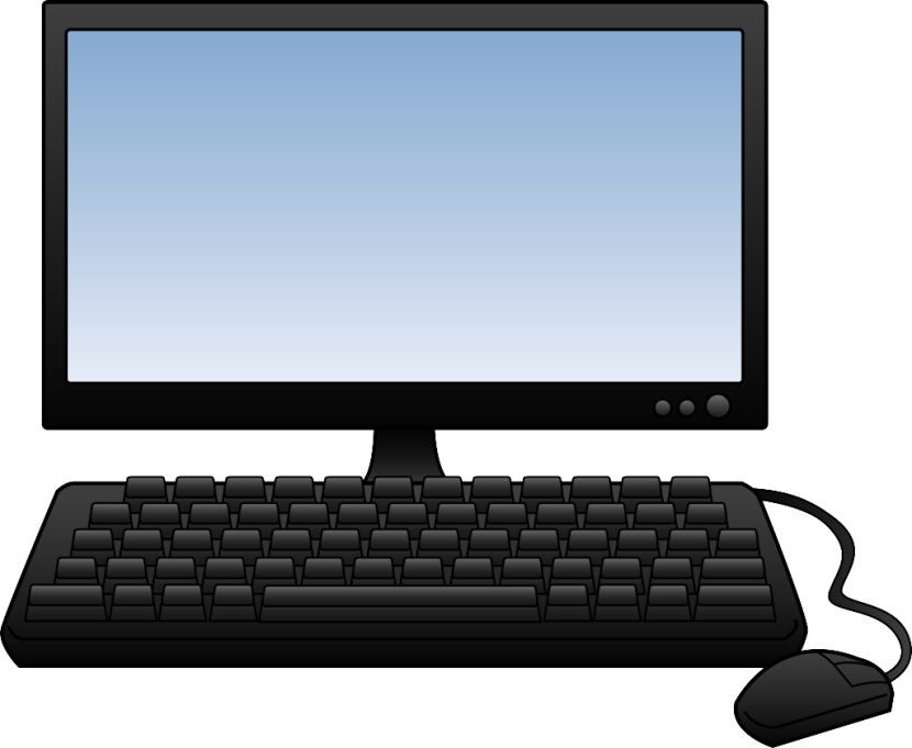 collection of computer. Computers clipart plotter