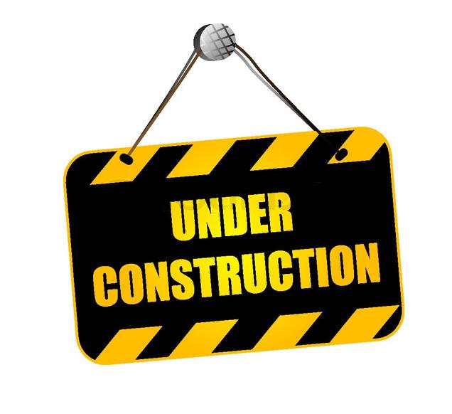 Website clipart under construction. Millennium begins building mile