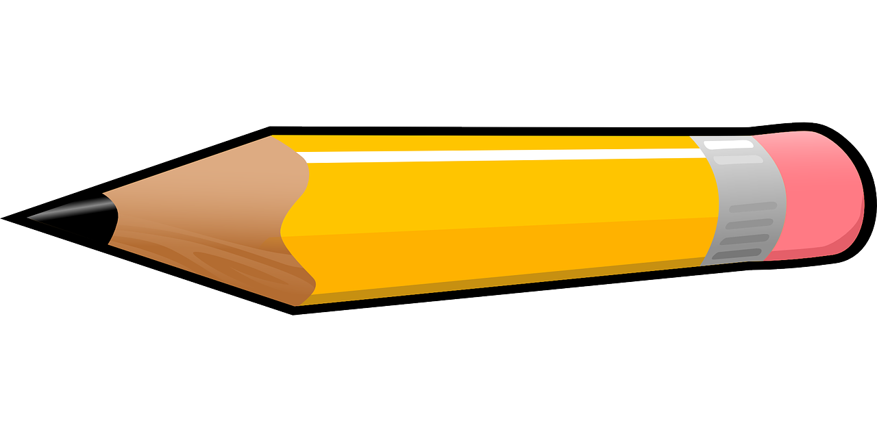 pencil clipart horizontal