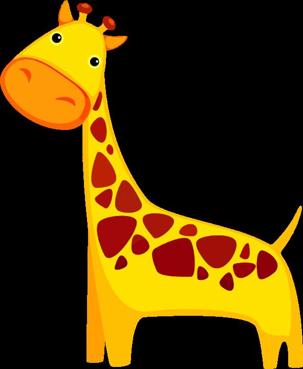 Free cute at getdrawings. Giraffe clipart family