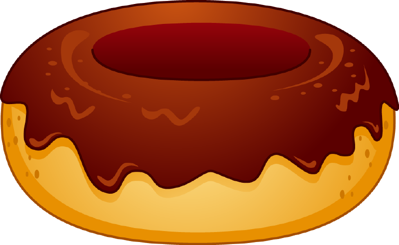 The top best blogs. Doughnut clipart kid