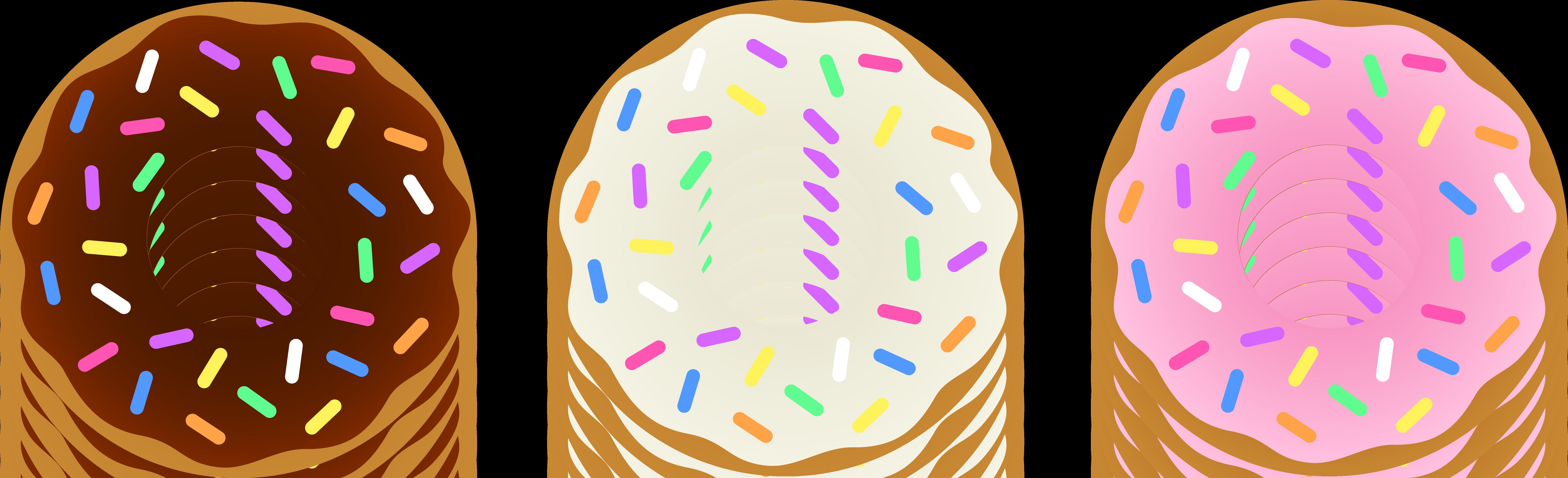 Question . Donut clipart logo