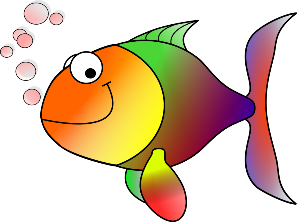 Fishing clipart dog.  colorful fish images