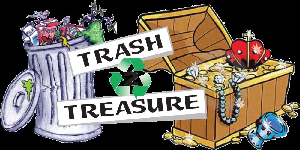 Garbage clipart clean neighborhood. Trash to treasure day