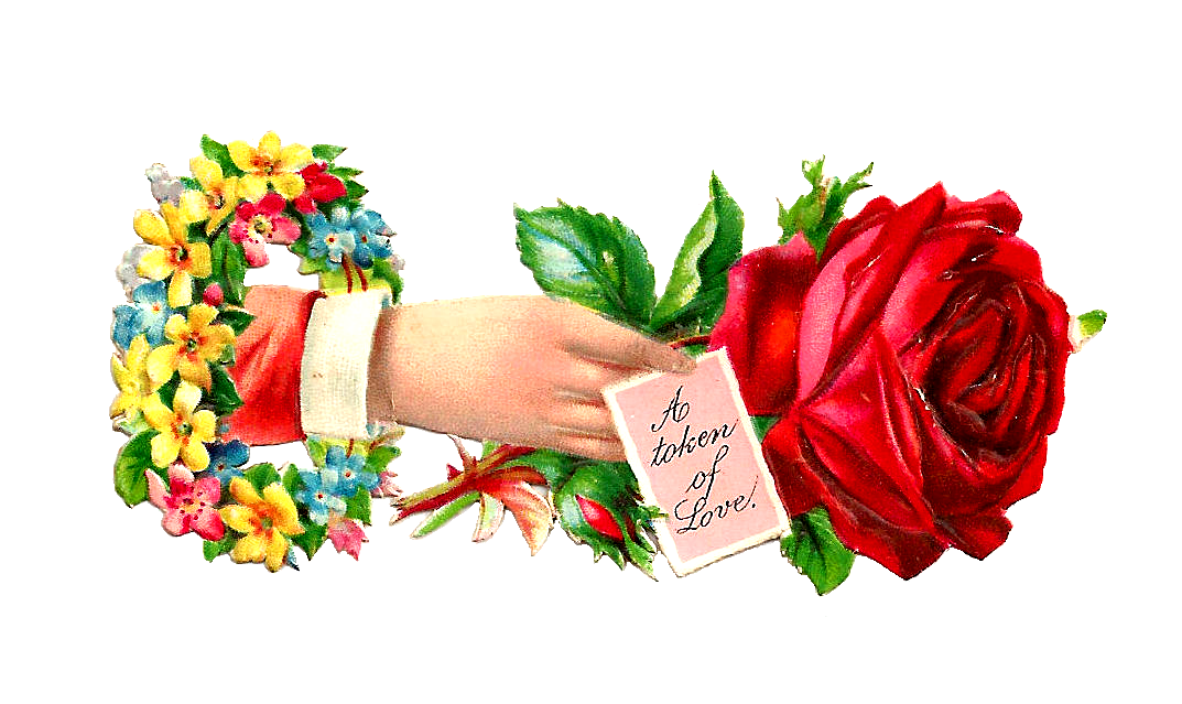 Love flower pencil and. Clipart free garden