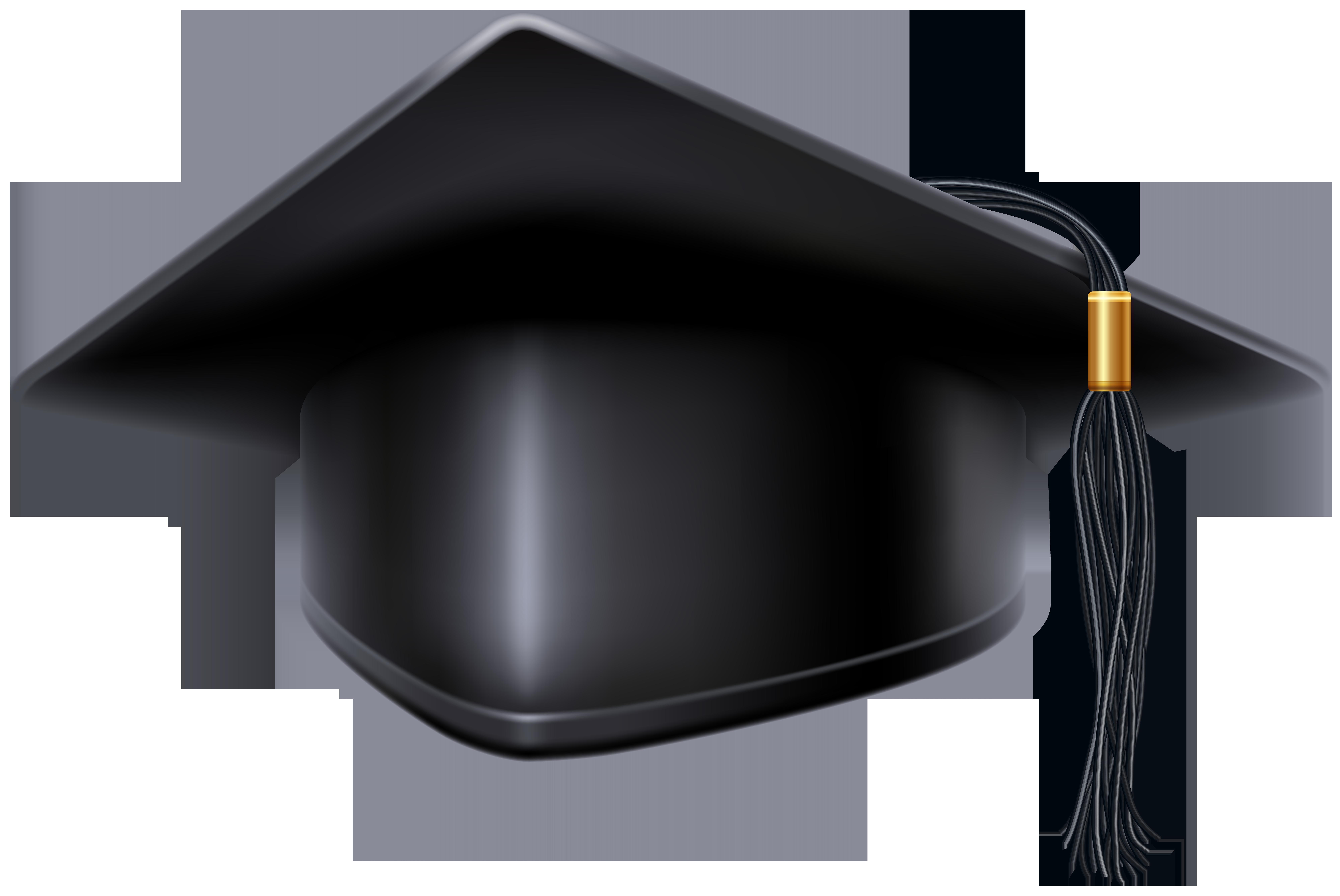 Black cap png clip. Graduation clipart vector