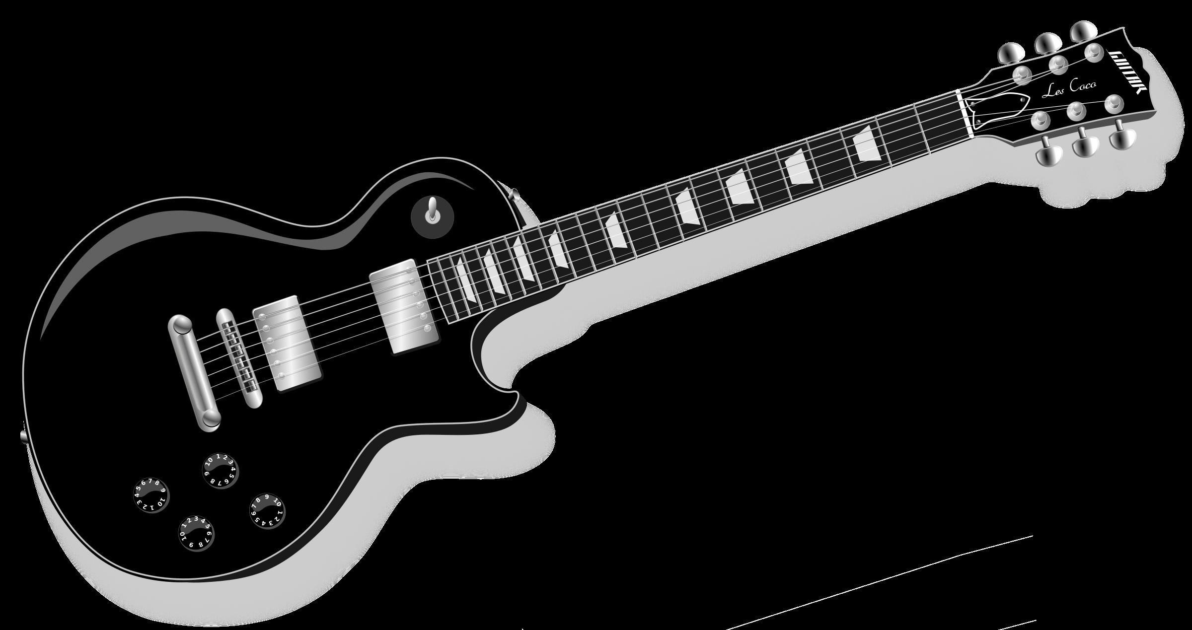 free clipart guitar