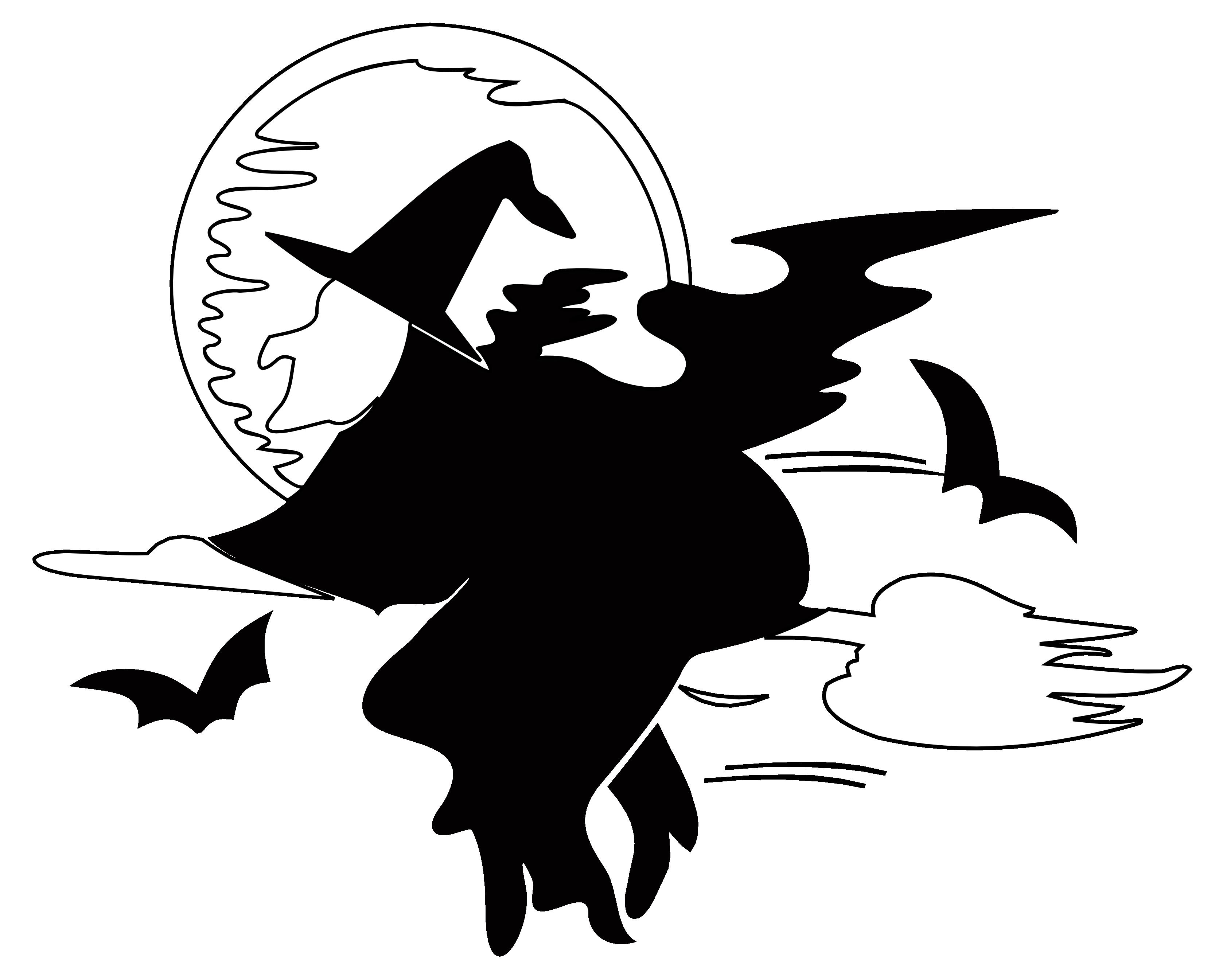 Line art download clip. Clipart free halloween