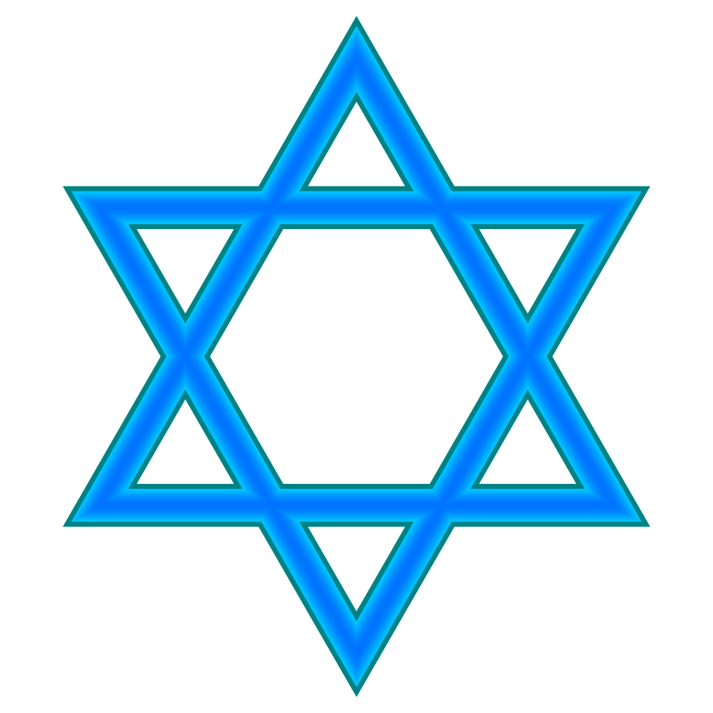Star of david drawing. Dreidel clipart judaism