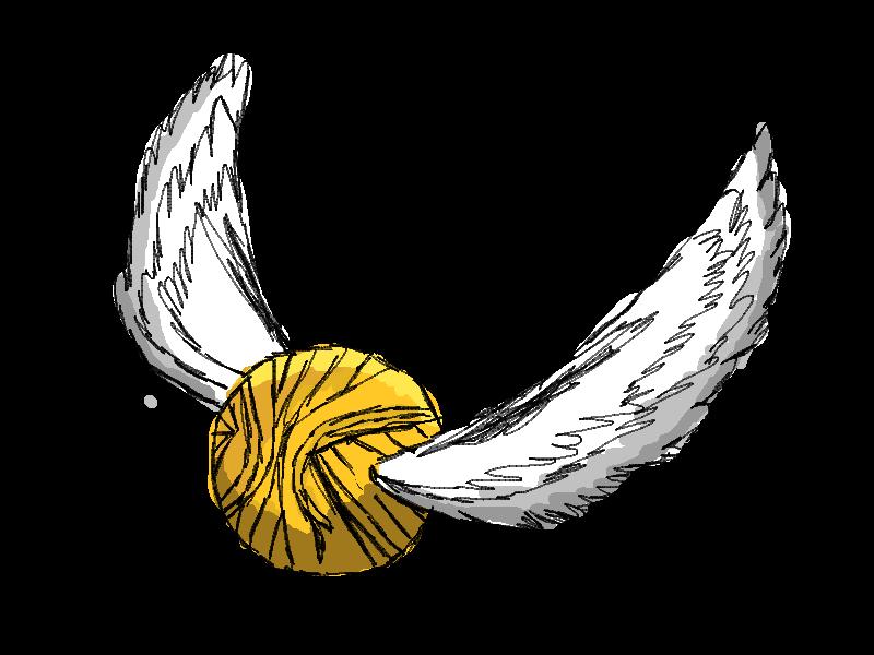 Golden snitch clip art. Owls clipart harry potter