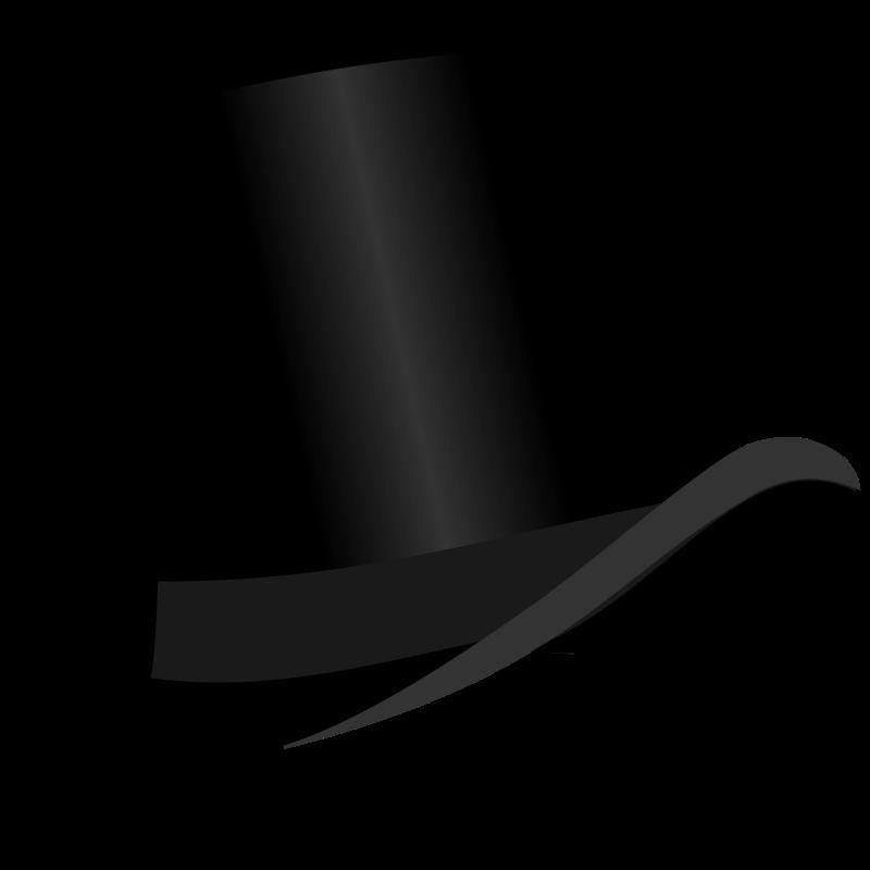 Fedora clipart headwear. Top hat free bonzo
