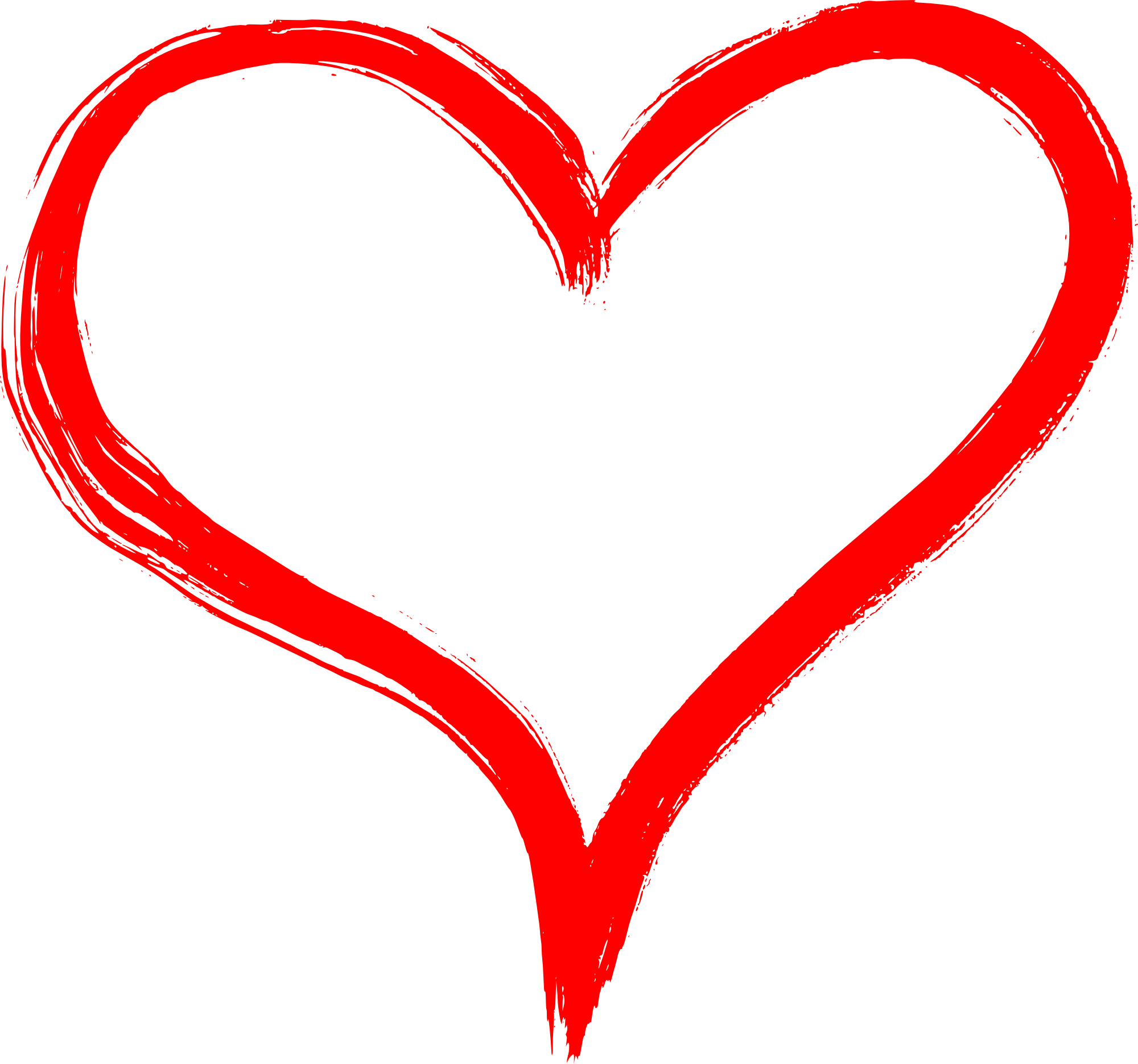 Hearts transparent png.  collection of hand