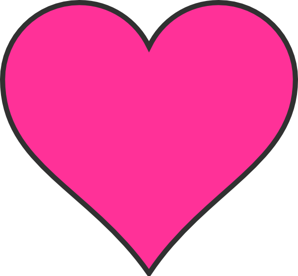 Hearts clipart star. Pink free images