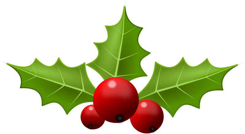 Christmas mobawallpaper clip art. Clipart free holly