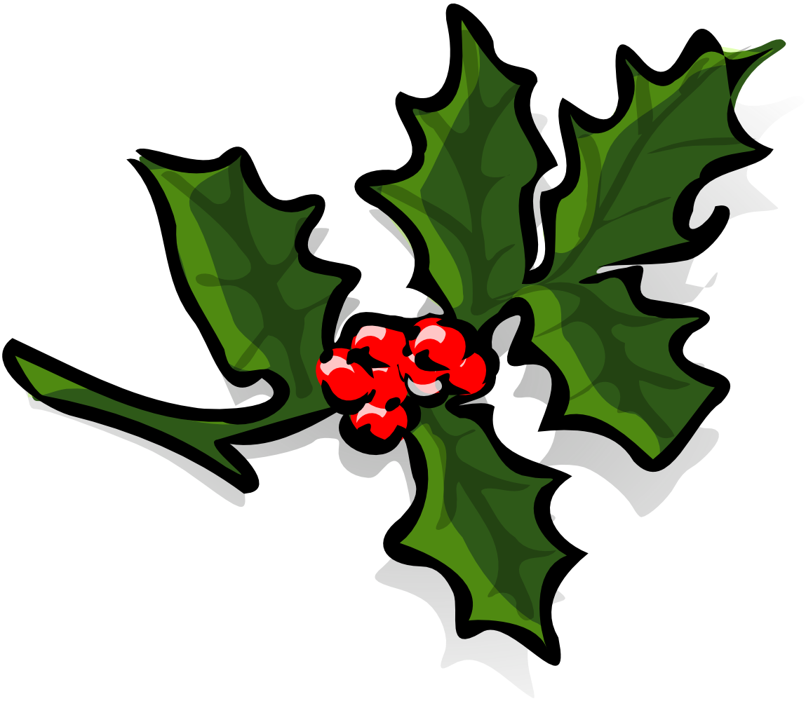 And berries holiday christmas. Clipart free holly