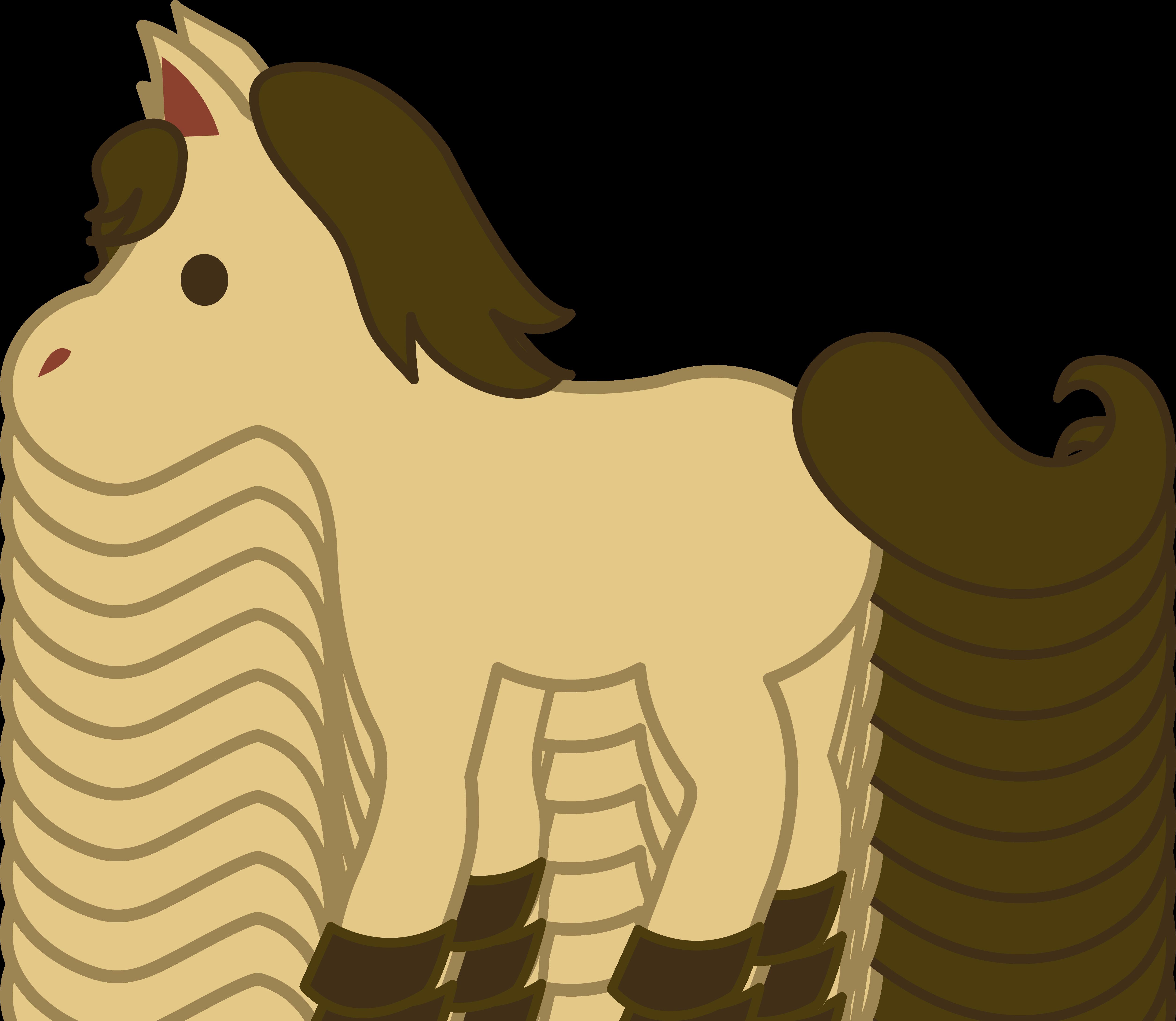 clipart horse simple