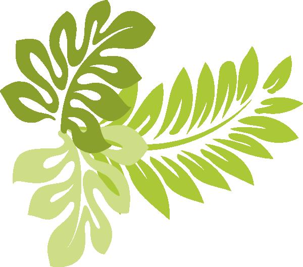 Hibiscus leaves clip art. Hawaii clipart leaf