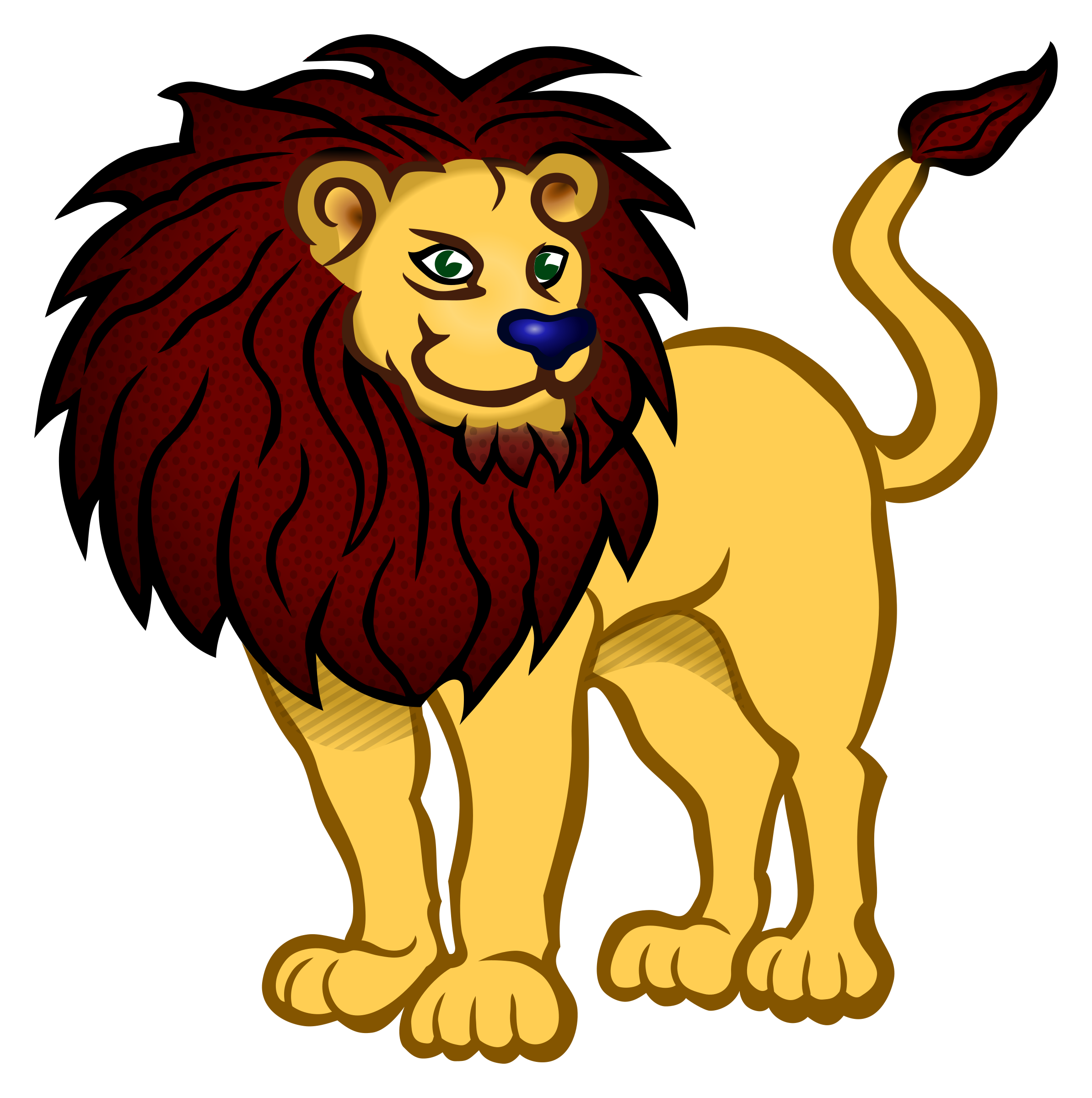 Picture clipart lion.  collection of png