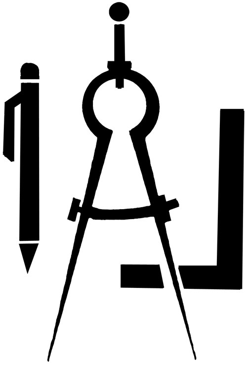 Geometry math compass free. Draw clipart technical drafting