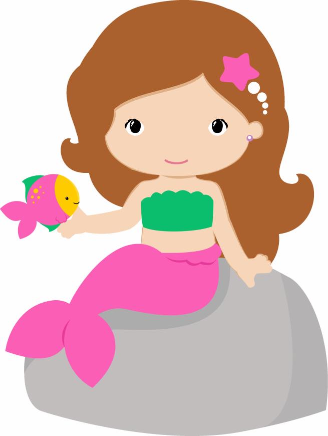 Girls clipart mermaid.  shared ver todas
