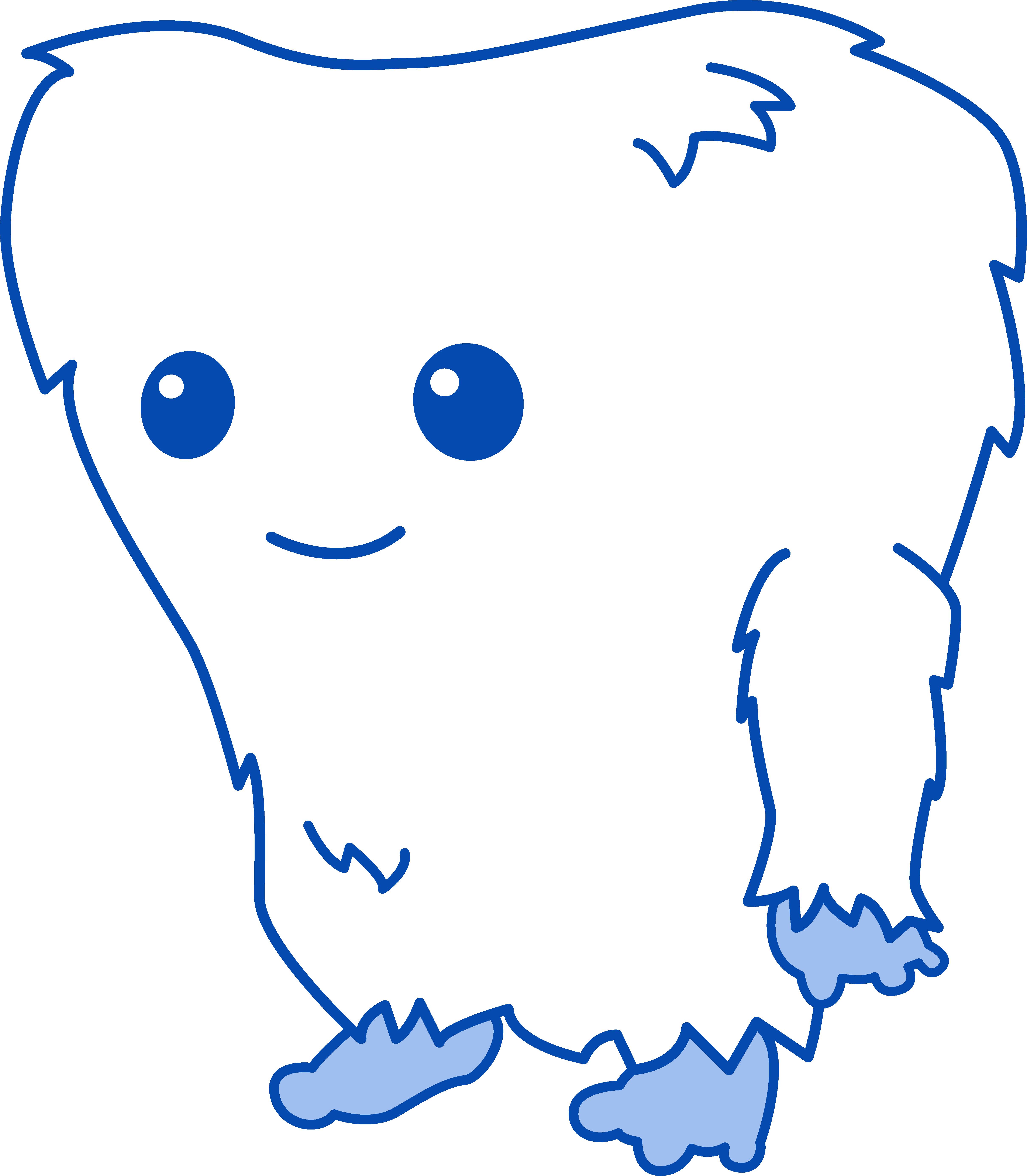 Olaf clipart abominable snowman. Cute little yeti monster