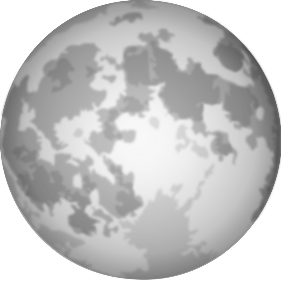 Clip art free images. Clipart moon bitmap