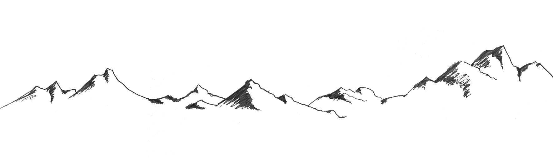 Clipart mountain moutain. Transparent background pencil and