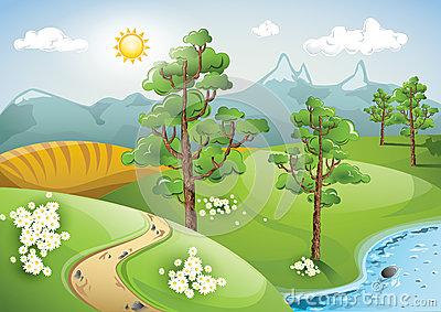 Free cliparts download clip. Nature clipart nature scene