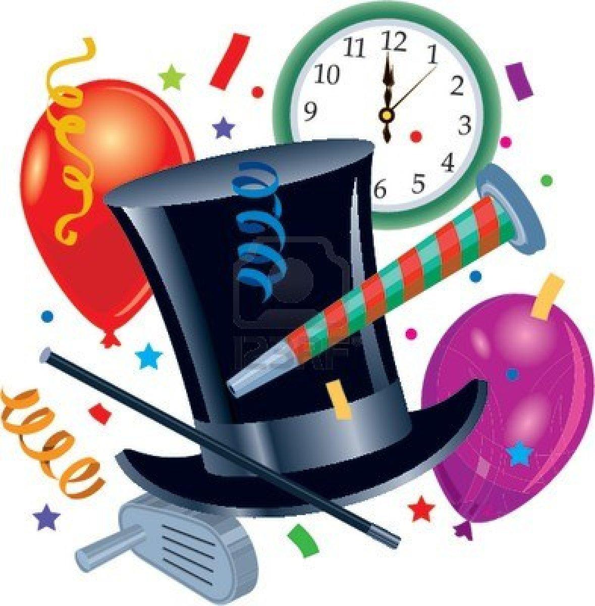 Free new years eve. Clocks clipart nye