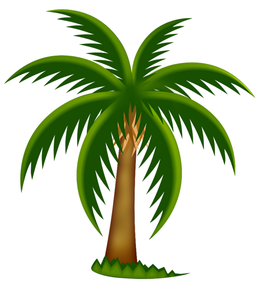 Hawaiian clipart palm tree. Free images clipartix