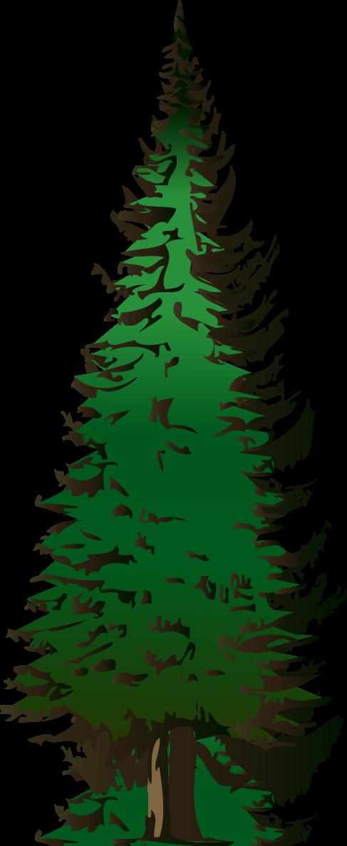 Cross clipart tree. Pine panda free images