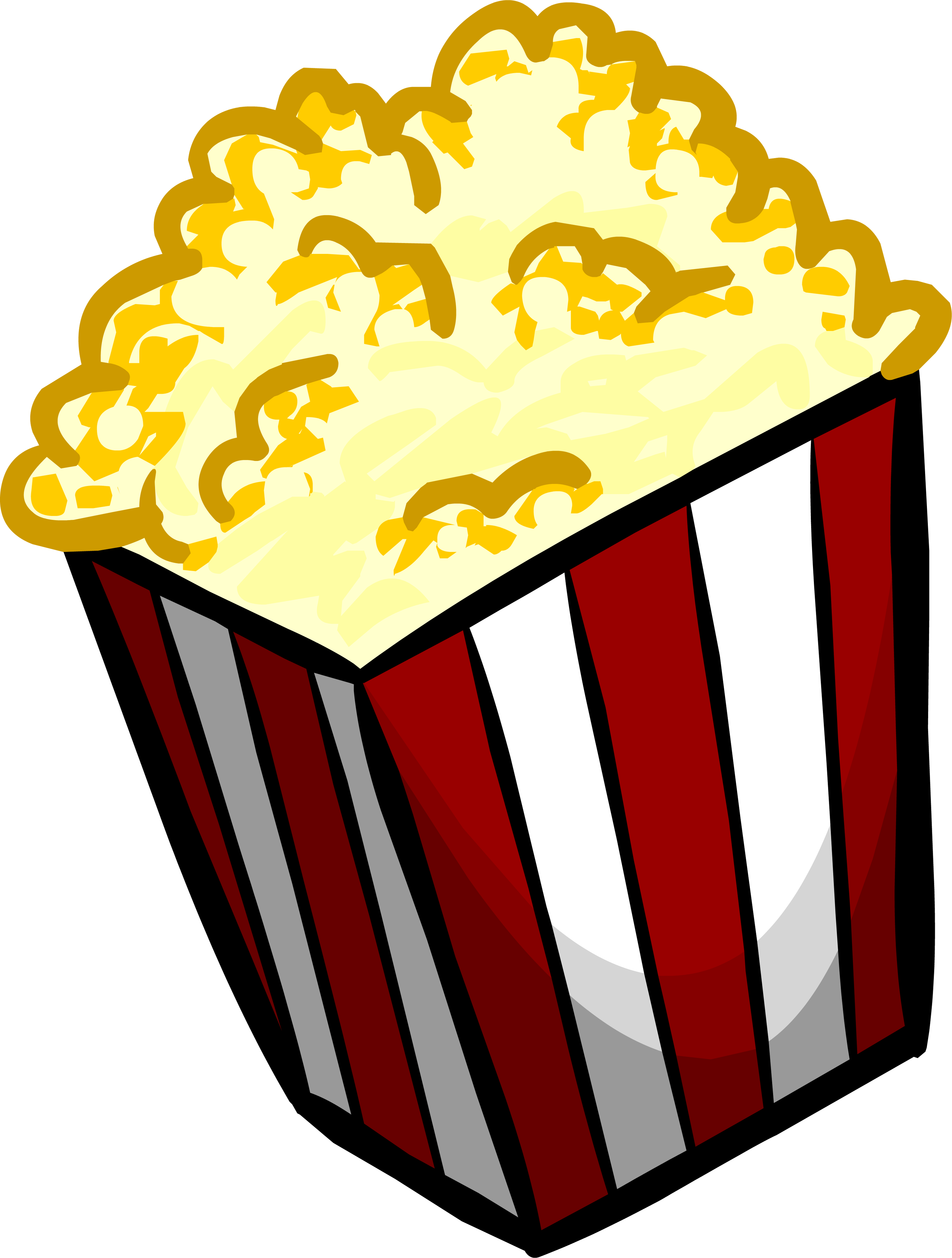 Clipart free popcorn. Download png transparent image