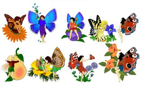 Fairy clipart printable. Free download clip art
