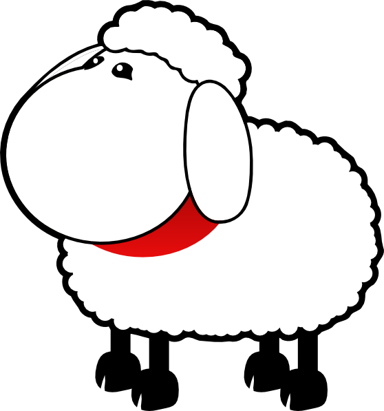 No mouth clip art. Sheep clipart sheep drawing