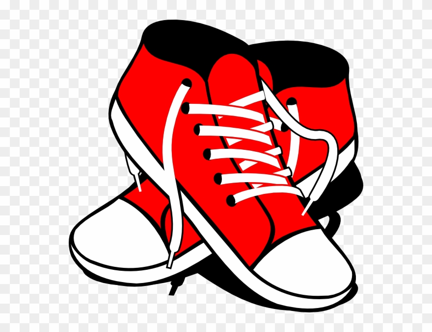 Free shoe print at. Clipart shoes foot wear
