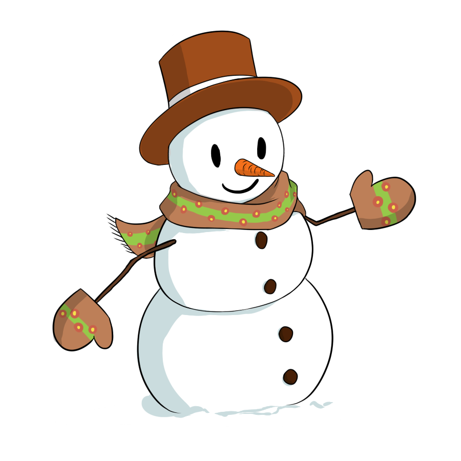 Snowman free download clip. Snowboarding clipart animated winter holiday