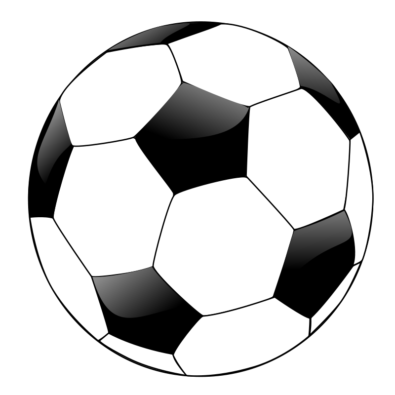Free download clip art. Sports clipart soccer