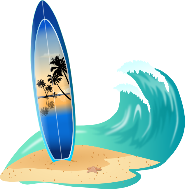 Lake clipart animated. Free water sports surfing