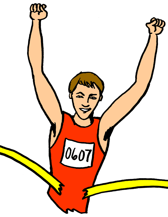 Race clipart sport champion. All sports free download