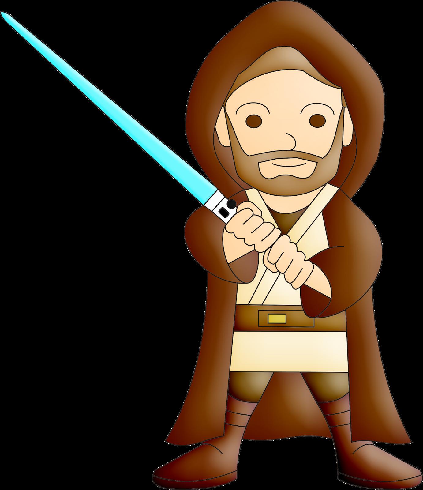 Obi wan kenobi chewbacca. Clipart free star wars