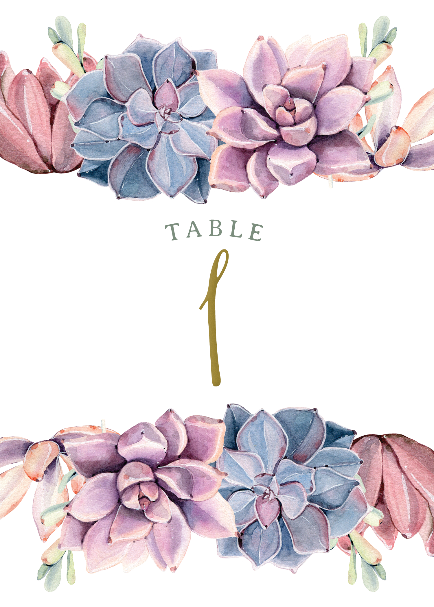 Clipart free succulent. Sweet succulents table card