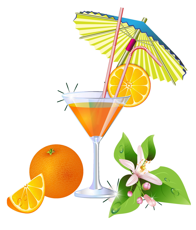 Cocktails clipart cool drink. Summer orange cocktail png