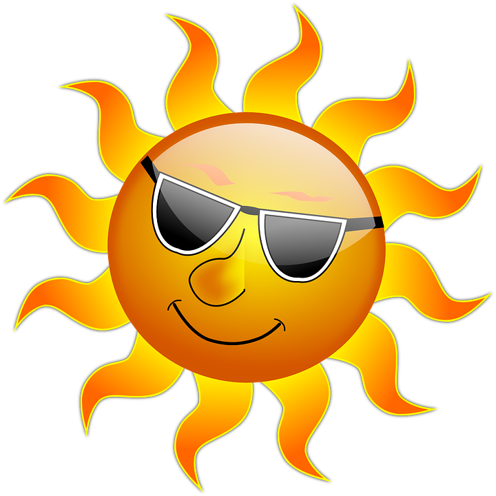 Sunny clipart scenery. Sunshine images group with